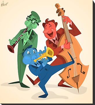 Jazz Trio by Freddie Elsom