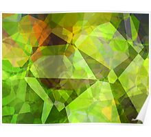Abstract Polygons 24 Poster