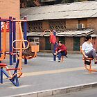 Beijing 2006 - Workout or hangout by Marjolein Katsma