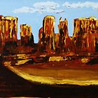 Monument Valley by William C Smith