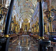 insaeculasaeculorum . The Holy Trinity and All Saints' Parish Church . Le?ajsk . Poland . by Doktor Faustus .  by © Andrzej Goszcz,M.D. Ph.D