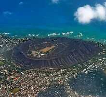 Diamond Head Crater by Alex Preiss