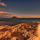 Brightons West Pier by Dean Messenger