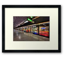 Eastbound Framed Print