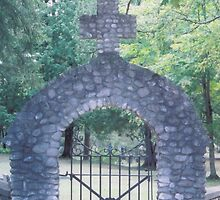 Gate to the Cemetary by Sonya Lynn Potts