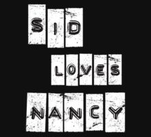 Sid Loves Nancy (Sid Vicious & Nancy Spungen) by LamericaTees