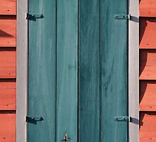 Barn Window by Frank Romeo