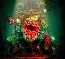 Dumpty of the Dead – King Dumpty by Simon Sherry