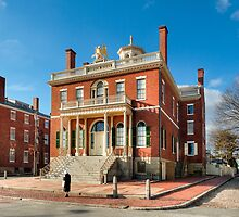 Salem Custom House - Historic New England by Mark Tisdale