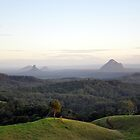 Glasshouse Mountains by Stephanie Stengel | stelonature photography