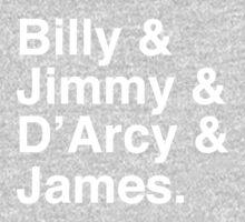 Billy & Jimmy & D'Arcy & James Smashing Pumpkins T-Shirt Kids Clothes