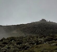 Easter Weekend on Scafell Pike by Kat Simmons