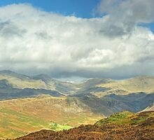 Eskdale Skyline by VoluntaryRanger