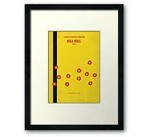 No048 My Kill Bill - part 1 minimal movie poster Framed Print