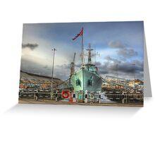 HMS Cavalier (R73) Greeting Card