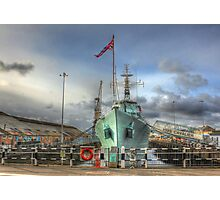 HMS Cavalier (R73) Photographic Print