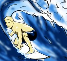 Surfing The Tube Sticker