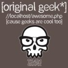 Original Geek* T-Shirt - For dark colors by [original geek*] clothing