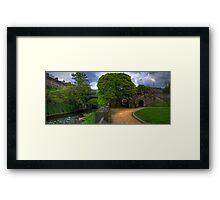 The Saunders Street Steps Framed Print