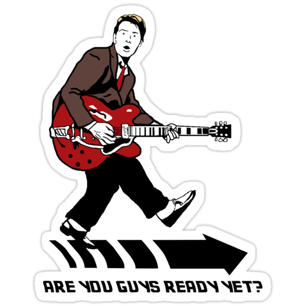 Marty Mcfly Johnny B Goode by NLRB