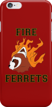 Fire Ferrets Team Spirit by scarlethue
