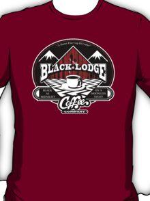 Black Lodge Coffee Company (clean) T-Shirt