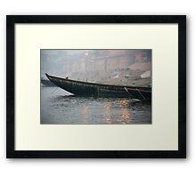 Ganges Fleet Framed Print
