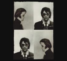 Elvis (Mugshot)  by LamericaTees