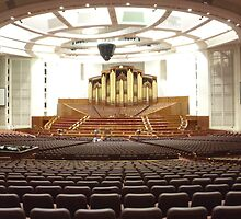 Organ at New LDS Tabernacle by Joseph Barney