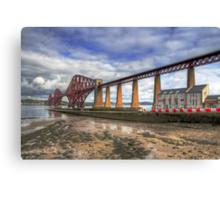Bridge and RNLI Canvas Print