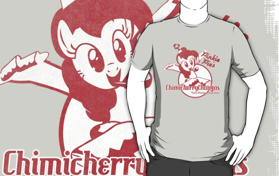 Pinkie Pie's Chimicherrychangas (Worn Version) (MLP:FiM) by pixel-pie-pro