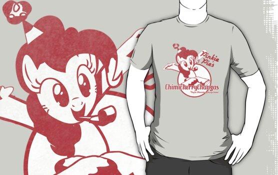 Pinkie Pie's Chimicherrychangas (Worn Version) (MLP:FiM) by pixel-pie-pro