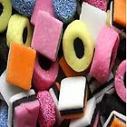 Liquorice Allsorts Iphone case by LittleMermaid87