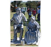 Living Statues Poster