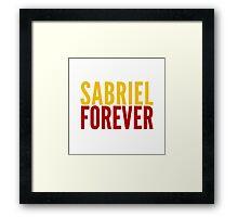 Ship Loyalty - Sabriel by @I_am_the_Impala Framed Print