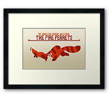 The Fire Ferrets Framed Print