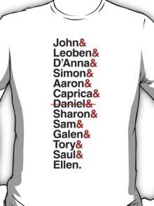 Cylon Jetset (black) T-Shirt
