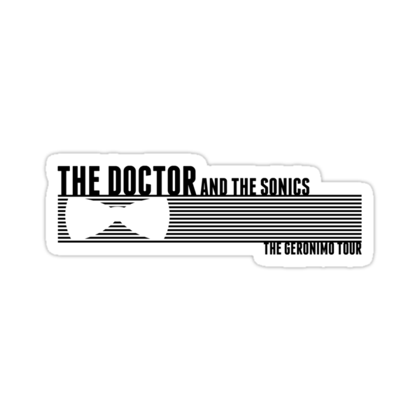 The Doctor and The Sonics - Black by tomoxnam