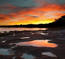 Murchison River - Kalbarri by John Pitman