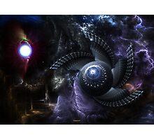 When Universes Collide Photographic Print