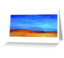 Namibia in oil Greeting Card