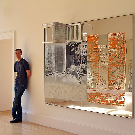 Rauschenberg Reflections (Pegasits) by asm1