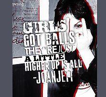 Joan Jett iPhone Case by jabberjaytattoo