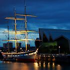 The Glenlee at Night by Peter Stark
