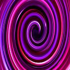 Purple Swirl IPhone & IPod case by Magdalena Warmuz-Dent