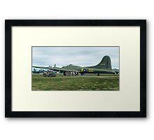 B-17 Bomber Crew Framed Print