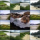 Wild and Windy Western Isles Collage by BlueMoonRose