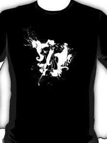 Fluttershy Ink Splatter Reverse T-Shirt