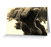 Touch Of Fate Greeting Card
