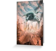 The Giant Thing Greeting Card